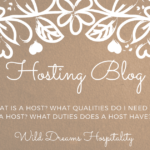 Hosting blog – what is a HOST?